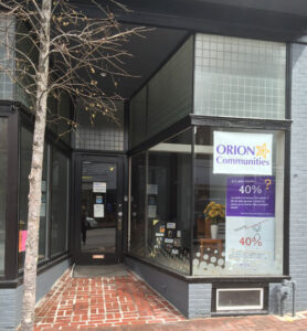 ORION HAS MOVED to 237 BRIDGE STREET!
