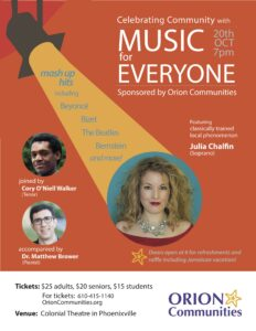 MUSIC for EVERYONE – Oct 20th