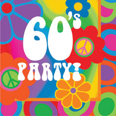 Celebrate the 60s – August 10th!
