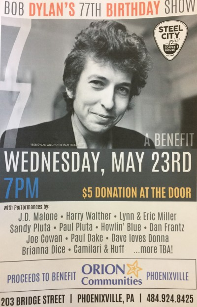 Private: Bob Dylan's 77th Birthday Show to Benefit Orion – May 23