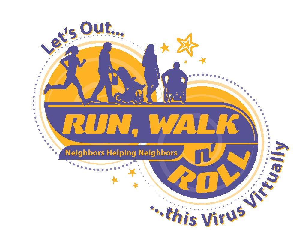 Outrun Walk n Roll logo