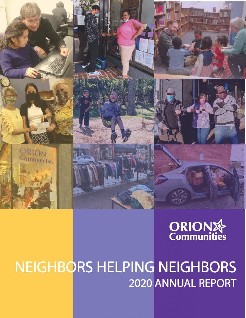 Orion's 2020 Annual Report