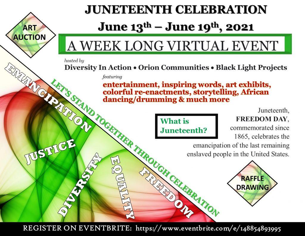 Juneteenth Celebration 2021